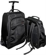 """Promate VoyageDuo-15.6"""" Multi-Attitude 2-in-1 Backpack and Trolley Bag-Suitable for all laptops 15.6 or under,Leather wrapped top carry handle, Retail Box, 1 Year Warranty.http://www.satelectronics.co.za/"""