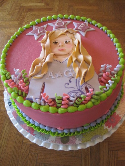 Ameican Girl Doll cake!!! I need this!!!