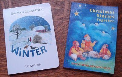 heirloom seasons: Yarn Along ~ Favorite Winter Waldorf Books