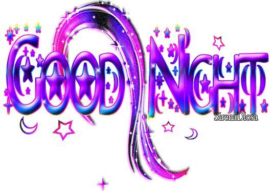 Good Night Glitter Graphics | Glitter Text » Greetings » good night
