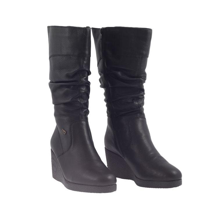 Dámské boty Rieker Z5783-00 Černá kůže/syntetika