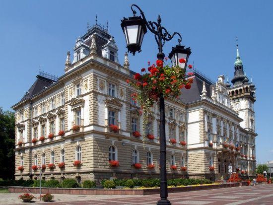 Ratusz w Bielsku Białej  zbudowany w latach 1895–1897 według projektu Emanuela Rosta. Pierwotnie mieścił magistrat miasta Białej, Komunalną Kasę Oszczędności oraz kilkanaście innych bialskich instytucji, a także mieszkania urzędników. Od 1951 jest siedzibą Prezydenta Miasta, Rady Miejskiej oraz części wydziałów Urzędu Miejskiego w Bielsku-Białej.