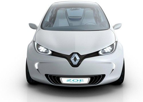 Renault Zoe. #Electric Vehicle