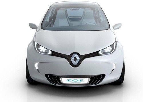 Renault Zoe. #Electric Vehicle