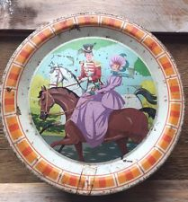 Vintage Quality Street Chocolates Tin/Sweets/Retro Advertising/Packaging/Round
