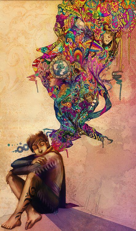 Colorful Illustrations by Monique Munoz | Sleep, Marathons ...