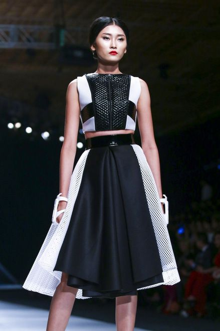 Ly Giam Tien, Vietnam International Fashion Week 2014