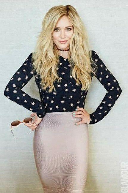 Hillary Duff | Glamour Magazine