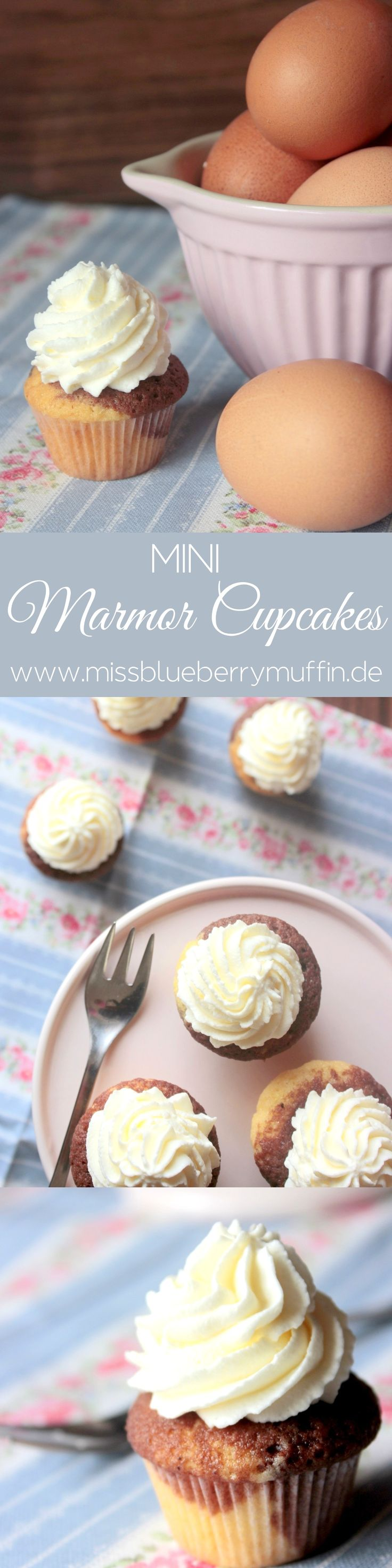 Mini Marmor Cupcakes <3
