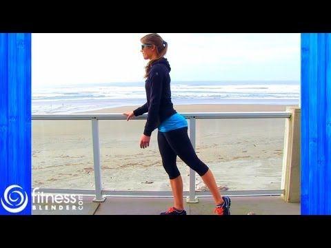 Butt & Thigh Barre Workout for Long Lean Legs - Beach Barre Workout