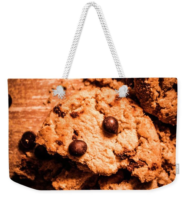 Cookie Weekender Tote Bag featuring the photograph The Way The Cookie Crumbles by Jorgo Photography - Wall Art Gallery