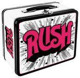 Aquarius - Rush Logo Lunch Box - Red/Black/White, 138629