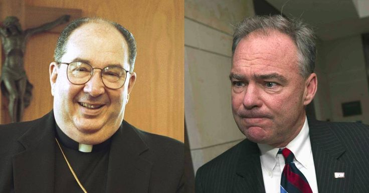 Tim Kaine's Bishop Comes Out With Truth Campaign Will NOT Like