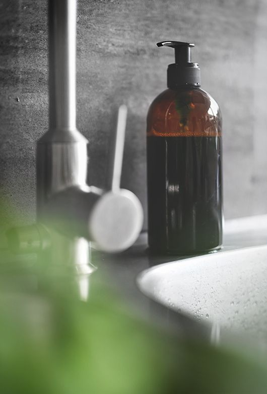 DIY dishwashing liquid soap dispenser