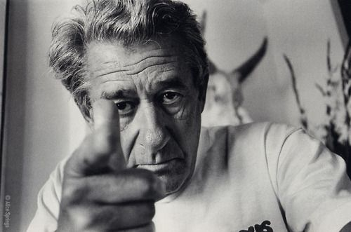 Helmut Newton photographed by Alice Springs