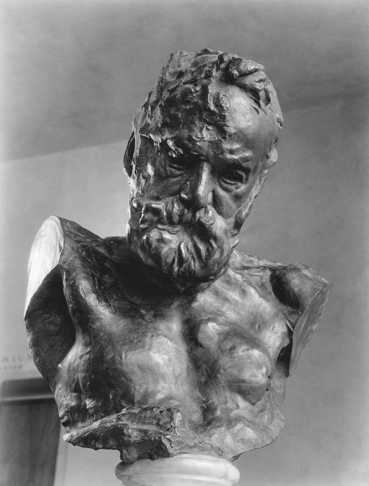 Portrait of a Man - Auguste Rodin