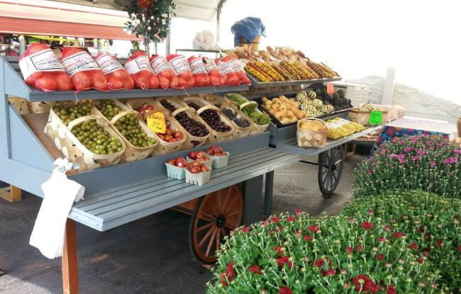 Great Smokies Flea Market - Farmer's Market: Just one entry in a great list of free things to do around Gatlinburg and Pigeon Forge, Tennessee!