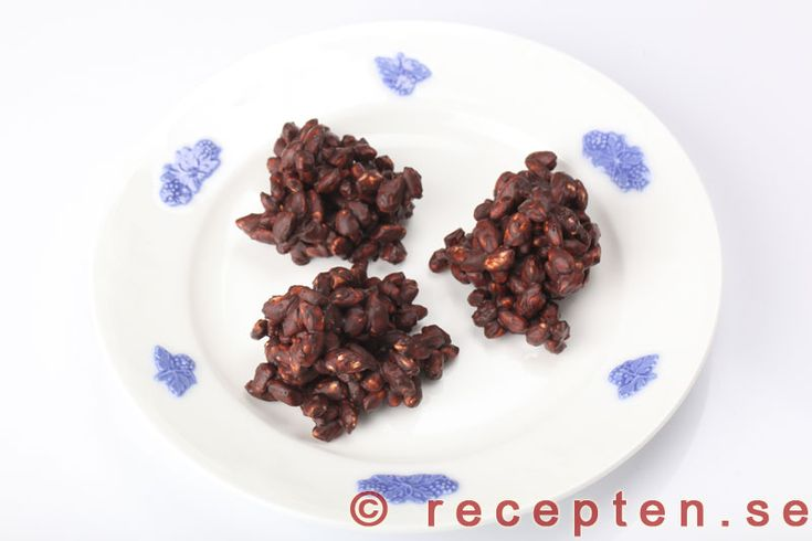 Rischoklad - Recept på superenkelt godis som både är gott och billigt. Passar bra som julgodis eller när som helst annars.