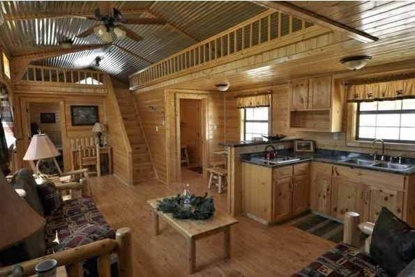The Cumberland log cabin comes in four sizes: 392, 448, 504 and 560 square feet. I am going to give you the prices for the 392 square feet one. The insulated kit unassembled costs $16,348. The pre-built insulated basic shell costs $18,164, while the pre-built deluxe finished costs $29,924. This kit is very unique; it has two reverse gables and a centre porch. Two lofts are located at each end thanks to its great design. This log cabin kit is the perfect choice for those people that want…