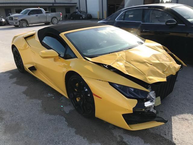 Salvage 2018 Lamborghini Huracan | Wrecked Exotics