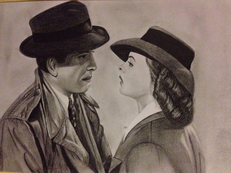Casablanca- drawing, dorottyaart.com