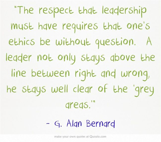 Leadership And Ethics Quotes: 17 Best Images About Leadership On Pinterest