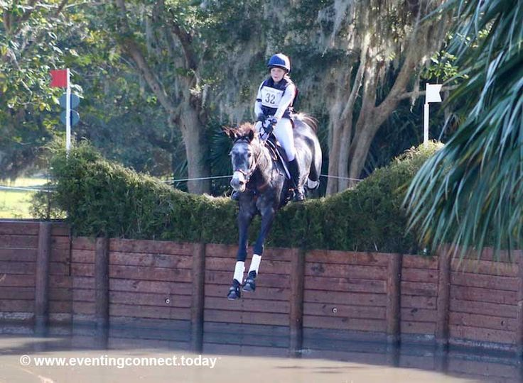 Check out all of the intense action from the Ocala Jockey Club CCI1* cross-country...