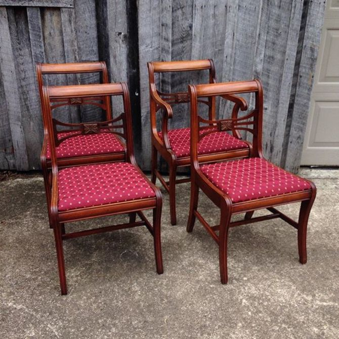 Dining Room Chairs Available Only At The Fabulous Finds Fall Barn Sale Oct 24