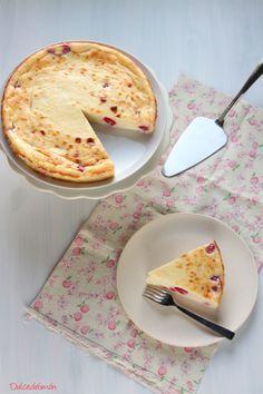 Tarta de queso de Gordon Ramsay. dulcesdelimon