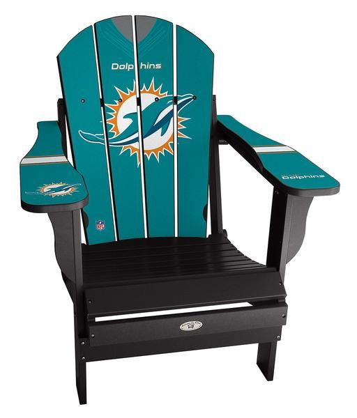 3ceca14d2d5640 Miami dolphin Adirondack chairs available on our site! #nfl #football  #miami #