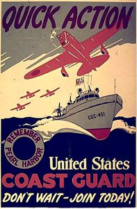 Coast Guard Recruiting Poster