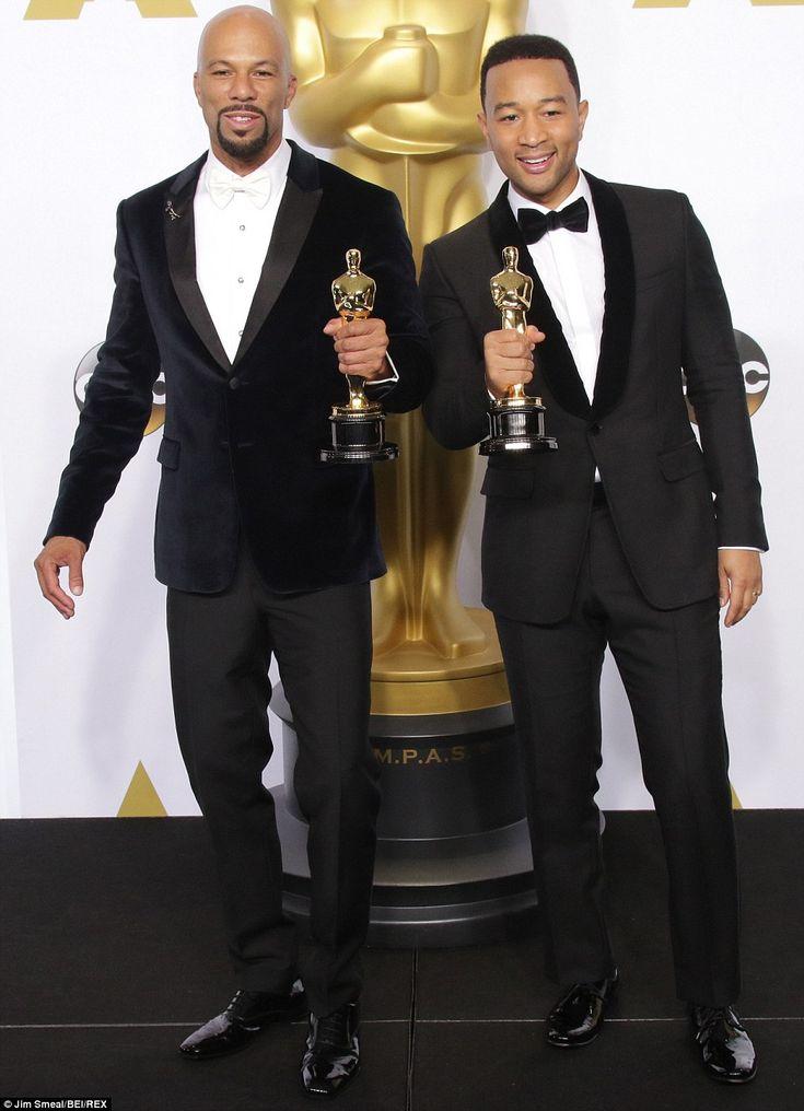"""Common & John Legend - Oscars 2015 meilleure chanson pour """"Glory"""" de Selma"""