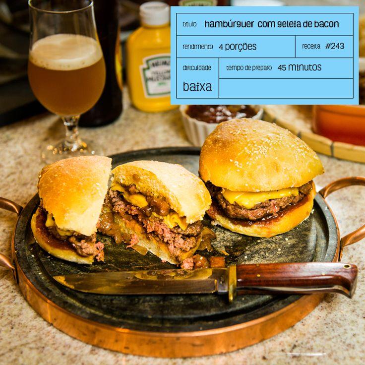 Moldando Afeto » hambúrguer com geleia de bacon – o chef e a chata