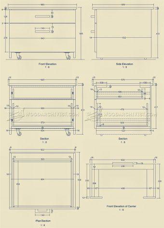 #1351 Triton Router Table Unit Plan - Router