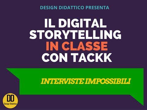 (15) Integrare il Digital Storytelling in classe: intervista impossibile - YouTube