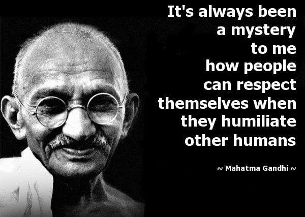 Mahatma Gandhi                                                       …