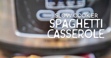 Slow Cooker Spaghetti Auflauf | Plain Chicken®