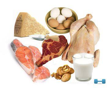 Белковые продукты для быстрого набора веса
