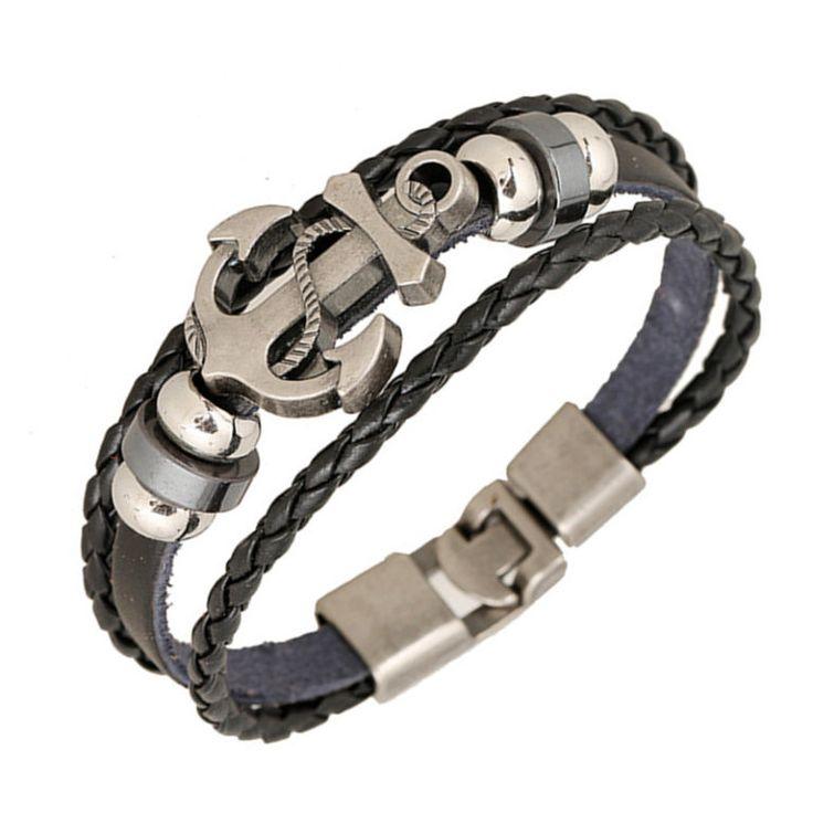 Мужской кожаный браслет с якорем «pulseira»(стандартный) https://wristband-bracelet.ru/product/%d0%ba%d0%be%d0%b6%d0%b0%d0%bd%d1%8b%d0%b9-%d0%b1%d1%80%d0%b0%d1%81%d0%bb%d0%b5%d1%82-%d1%81-%d1%8f%d0%ba%d0%be%d1%80%d0%b5%d0%bc/   Price:490 Кожаный браслет с якорем для настоящих мужчин. Универсальный цвет этой модели, делают ее подходящей как к стилю «на каждый день» так и к «деловому». Этот браслет напоминает нам об удивительных морских приключениях, пиратах и стремлению к богатству. Pulseira…