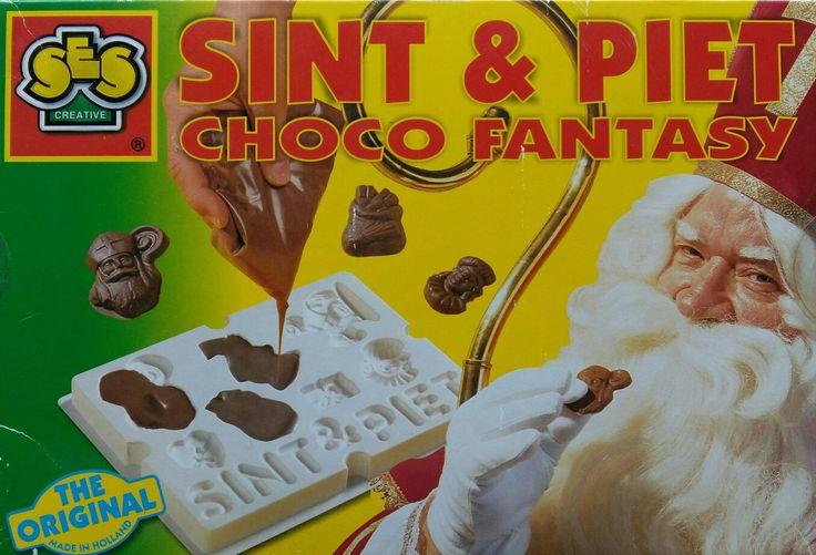 Sinterklaas chocolaatjes maken