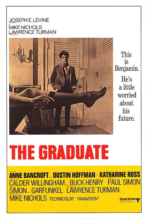 The Graduate: Movie Posters, 10 10 Movies, Classic Movie, Famous Movies, Graduate Movie, Greatest Movies, Favourite Movies, 1967 Film