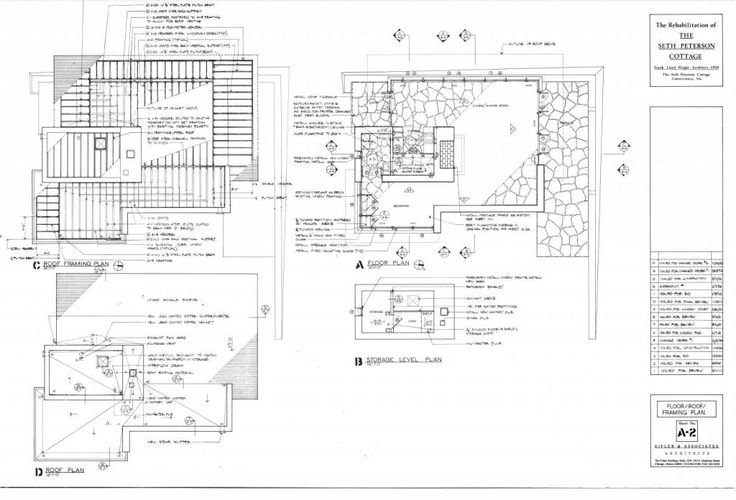 Wright chat view topic seth peterson cottage site for Frank lloyd wright floor plan