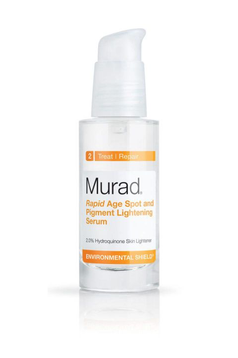 Acne scars, goodbye forever. The 10 best products to help eliminate them and get you clear skin.  Murad Rapid Age Spot and Pigment Lightening Serum, $60; sephora.com