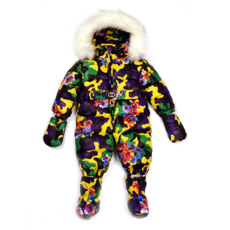 Russian Winter Baby Snow Wear Ski Suit For Boys Girls,Children Down Cotton Jackets Coats Outerwear,Camouflage Jumpsuit Clothing