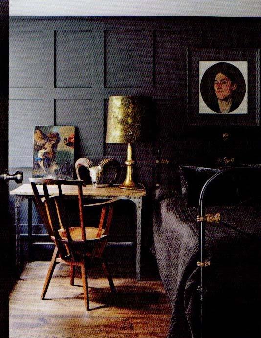farrow and ball paint color: railings no 31