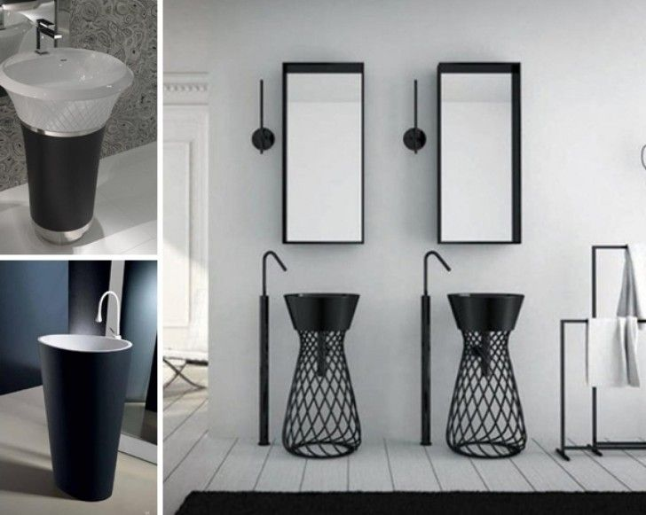 Bathroom Sink, Pedestal Sinks For Small Bathrooms Cute And Elegant Design  Of Bathroom With Cool