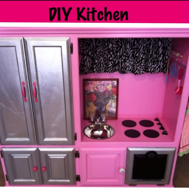 194 best DIY Kids Play Kitchens images on Pinterest | Play ...