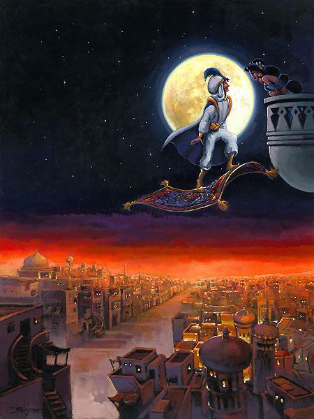 Rodel Gonzalez - Aladdin - A Visit from Prince Ali - Original - world-wide-art.com