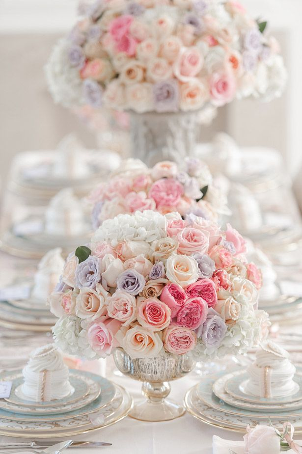 Wedding Centerpiece ~ Photography: Krista Fox // Floral Design: Paige Lewis Events