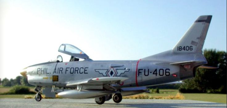 A Philippine Air Force F-86D.